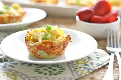Рецепт Омлет в картофельных гнездах
