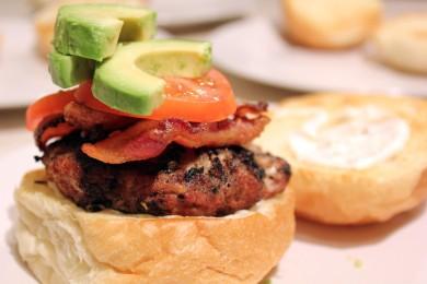 Рецепт Калифорнийские гамбургеры с индейской