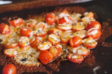 Рецепт Запеченные томаты черри с сыром