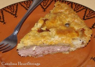 Рецепт Пирог с бараниной Глостершир