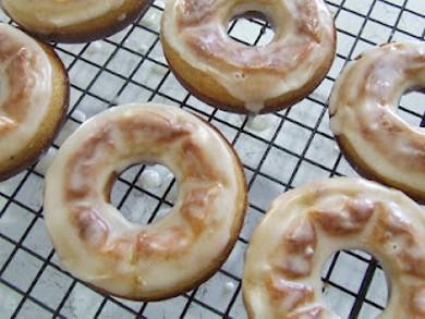 Рецепт Пончики с глазурью