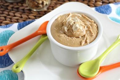 Рецепт Масло кешью, обжаренное с кленовым сиропом и ванильно-миндальным экстрактом
