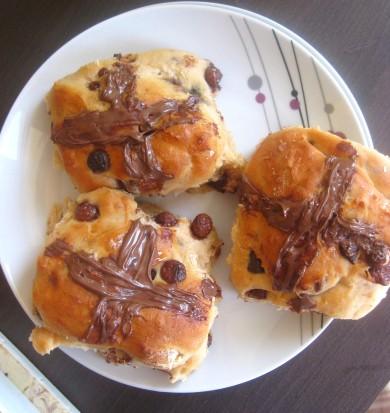 Рецепт Горячие шоколадные булочки