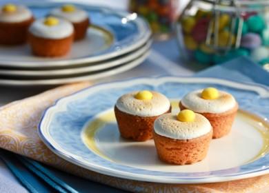 Рецепт Творожные пирожки с малиной и лимоном