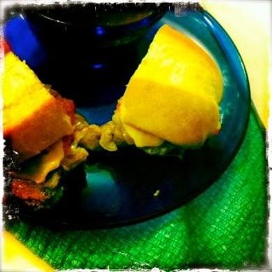 Рецепт Сырные сэндвичи с французской подливой