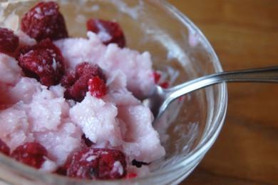 Рецепт Замороженный ягодный йогурт