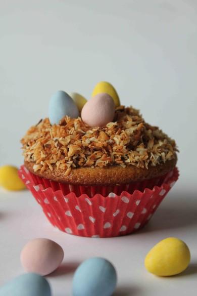 Рецепт Кексы Птичьи гнезда