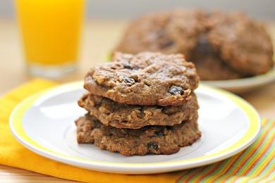 Рецепт Овсяное печенье к завтраку