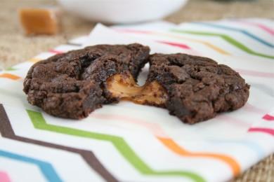 Рецепт Печенье брауни с карамелью
