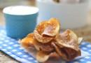 Домашние чипсы с луком и укропом