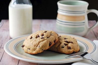 Рецепт Печенье с шоколадными мини чипсами