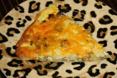 Рецепт Пицца на завтрак