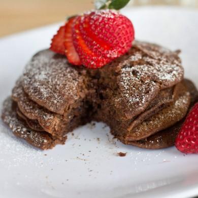 Рецепт Блины из теста для пирожных