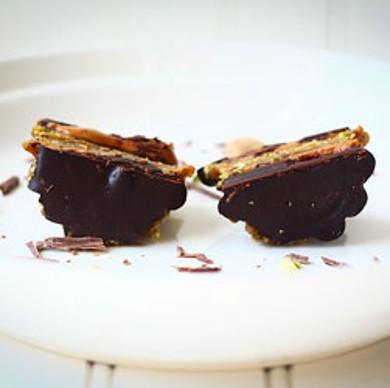 Рецепт Кексы с арахисовым маслом и шоколадом