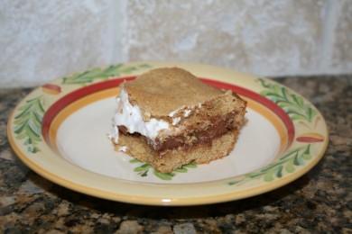 Рецепт Пирожные смоурс с шоколадом и зефиром