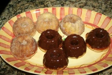 Рецепт Кексы-пончики