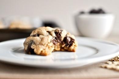 Рецепт Овсяное печенье на коричневом масле