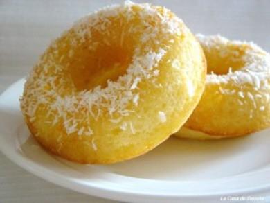 Рецепт Апельсиновые пончики