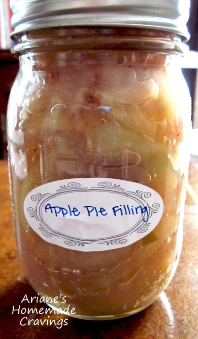 Рецепт Яблочная начинка для пирога