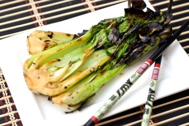 Рецепт Китайская капуста Пак-Чой на гриле
