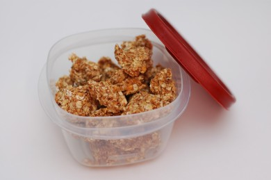 Рецепт Гранола с арахисовым маслом