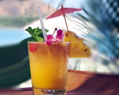 Рецепт Диетический ананасовый коктейль