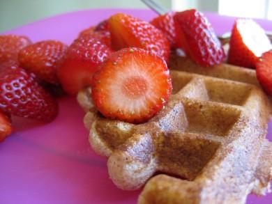 Рецепт Вафли из цельнозерновой муки — рецепт для вафельницы