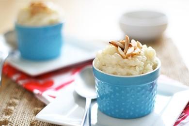 Рецепт Миндально-ванильный рисовый пудинг