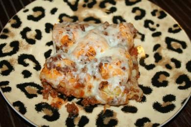 Рецепт Пицца-запеканка с говядиной и индейкой