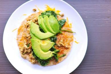 Рецепт Буррито на  завтрак
