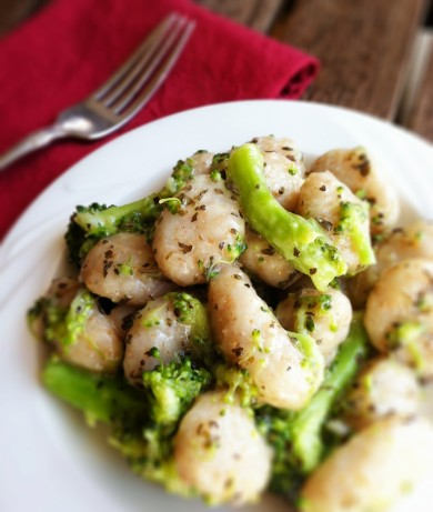 Рецепт Клецки с брокколи и базиликом