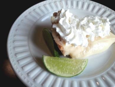 Рецепт Пирог с лаймовой начинкой