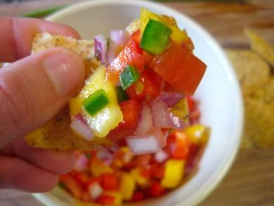 Рецепт Сальса из манго