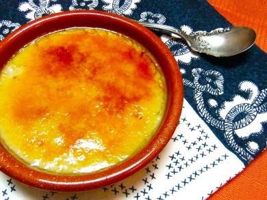 Рецепт Каталонский крем с миндальным молоком