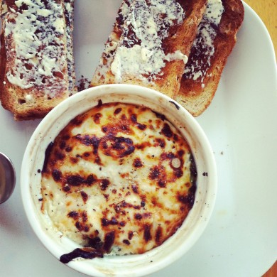 Рецепт Запеканка из яиц