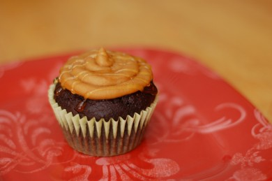 Рецепт Шоколадные кексы с глазурью