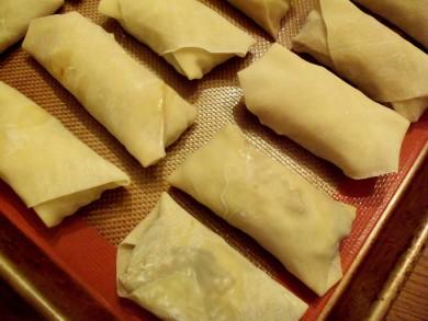Рецепт Роллы с овощной начинкой