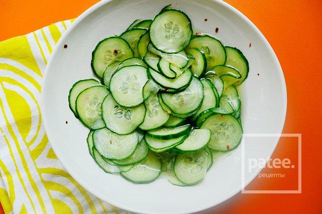 рецепты салатов из огурцов свежих рецепты