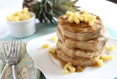Рецепт Блины с ананасами