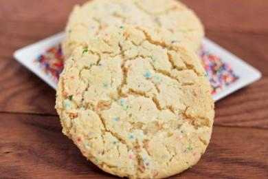 Рецепт Печенье с конфетти