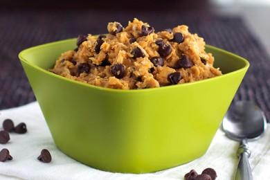 Рецепт Тесто для печенья с шоколадными чипсами