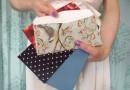 Текстильные конверты для писем