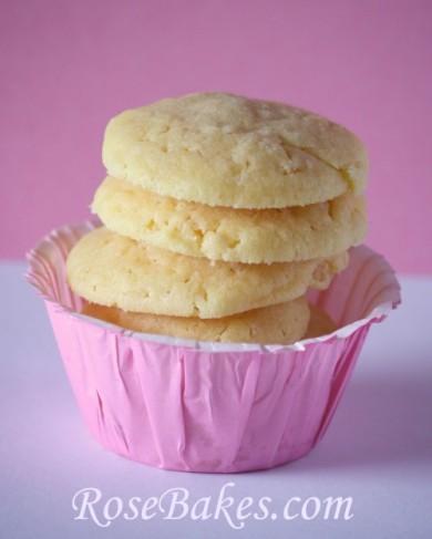 Рецепт Печенье с рисовыми хлопьями