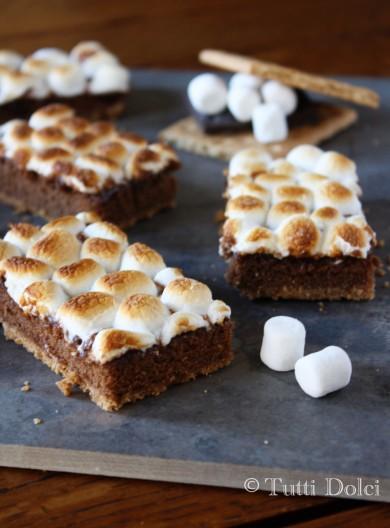 Рецепт Шоколадный пирог с зефиром