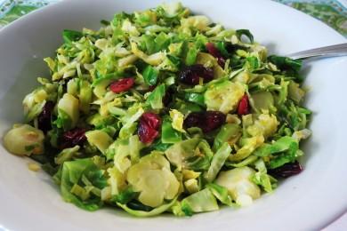Рецепт Салат из обжаренной брюссельской капусты