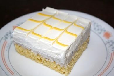 Рецепт Лимонный торт с черникой