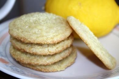 Рецепт Лимонное печенье к чаю