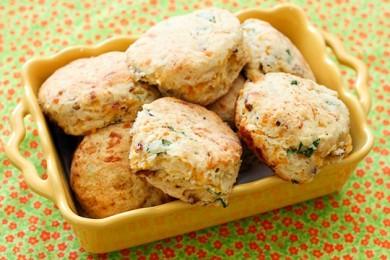 Рецепт Печенье с сыром и беконом