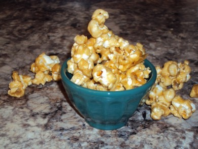Рецепт Попкорн с карамелью