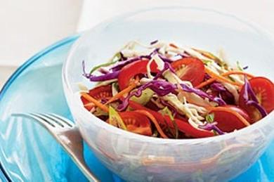 Рецепт Овощной салат с заправкой
